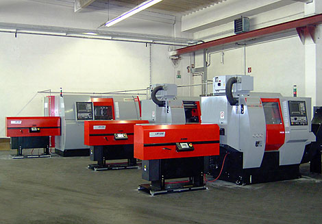 CNC Twin Spindle Machines